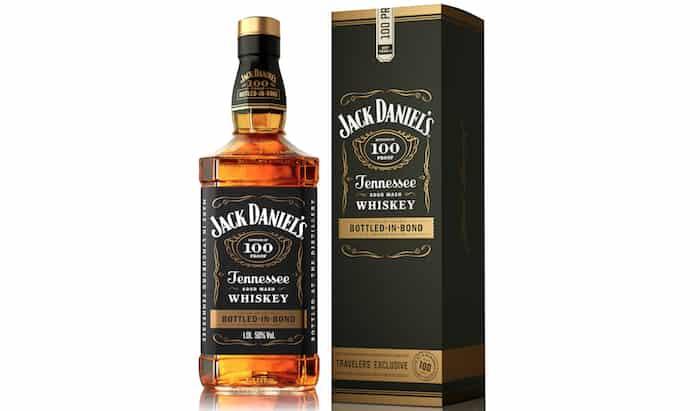 Jack Daniel's Bottled-in-Bond Tennessee whiskey