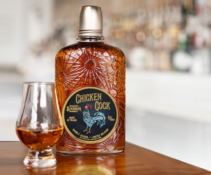 Chicken Cock10-Year-Old Double Barrel Bourbon
