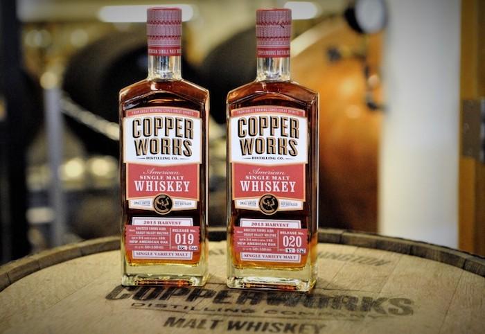 Copperworks Single Variety Malt Whiskey