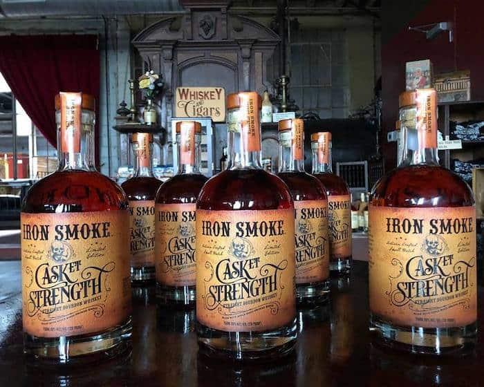 Iron Smoke CASKet Strength Straight Bourbon