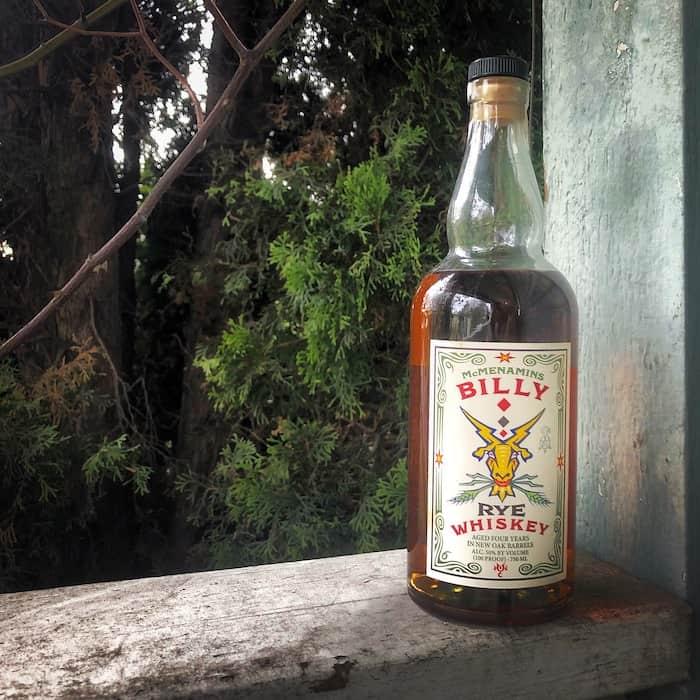 McMenamins Billy Rye Whiskey