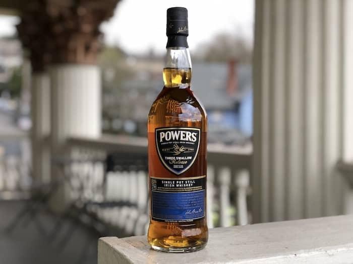 Powers Irish Whiskey Three Swallow Release