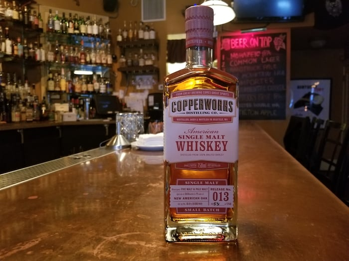 Whiskey Review: Copperworks American Single Malt Whiskey Batch 13