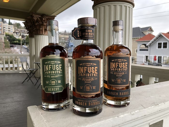 Infuse Spirits Broken Barrel Whiskey