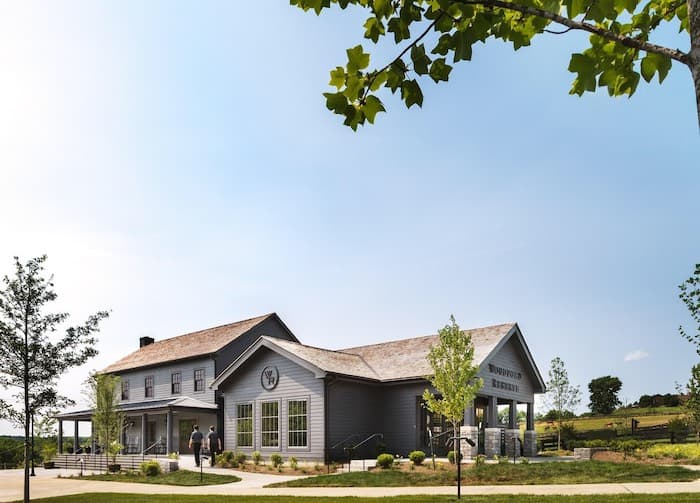 Woodford Reserve welcome center