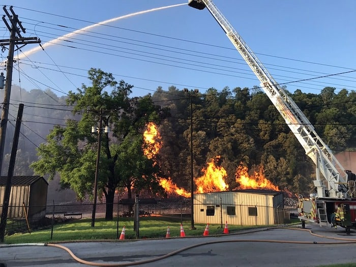 Beam warehouse fire