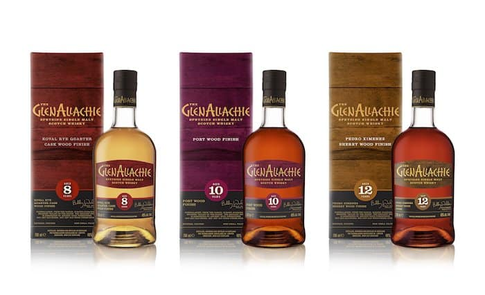 GlenAllachie Showcases Line Of Wood Finished Scotch Whiskies