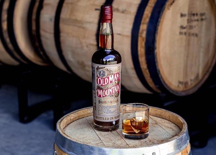 Old Man of the Mountain Straight Bourbon Whiskey