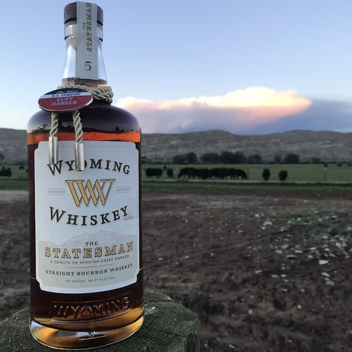 Wyoming Whiskey Statesman Bourbon