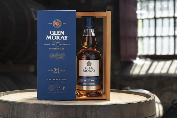 New 21 Year Old Glen Moray Scotch Finished In Ex-Port Barrels