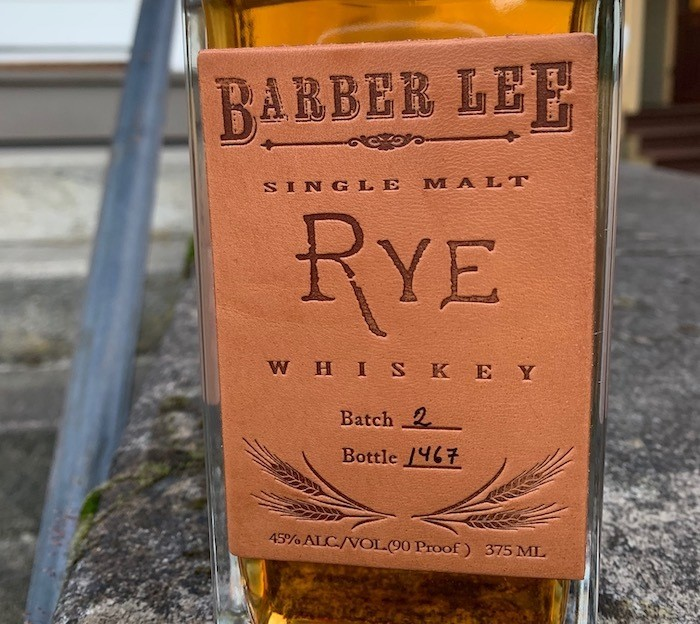 Barber Lee Single Malt Rye