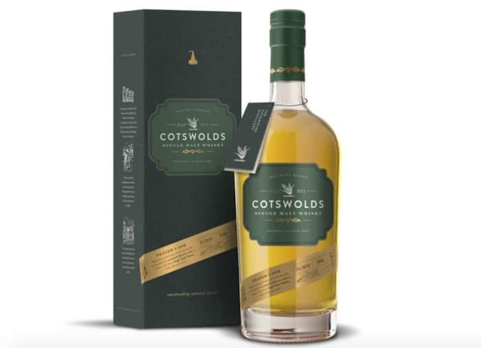 Cotswolds Single Malt Whisky Peated Cask