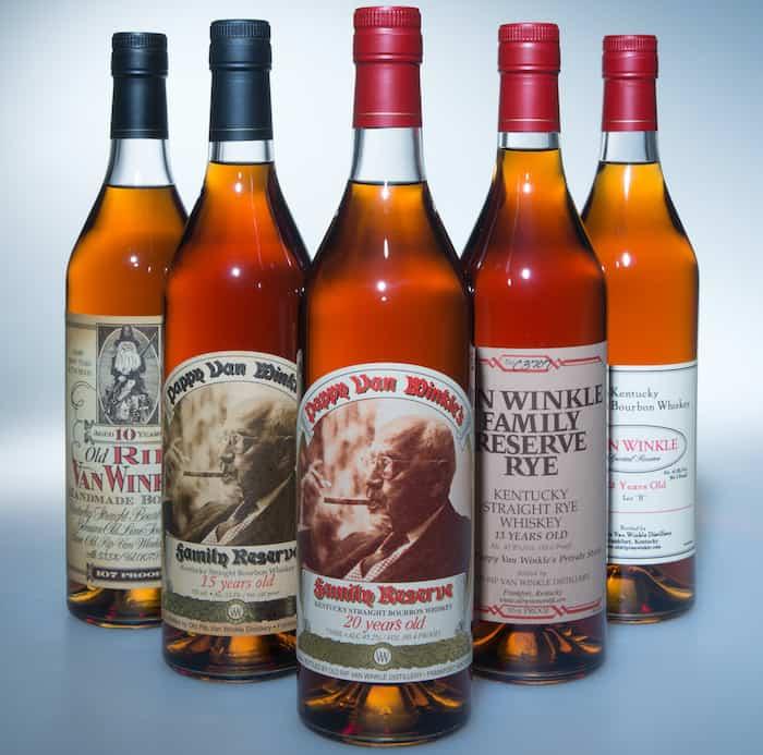 Van Winkle whiskeys fall 2019