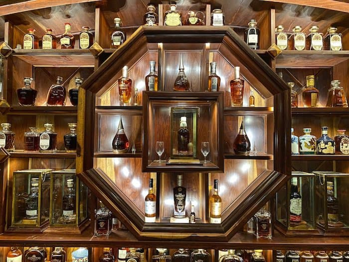 Mr. Viet's whisky collection
