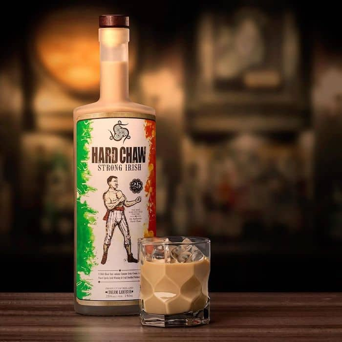Hard Chaw Strong Irish Whiskey Cream