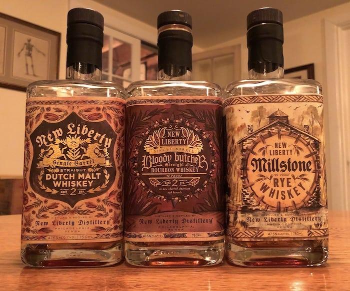New Liberty Whiskeys