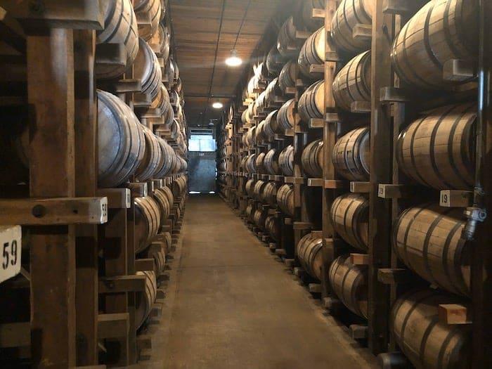 Dickel barrels