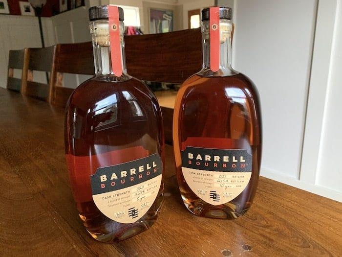 Barrell Bourbon Batch 21, 22
