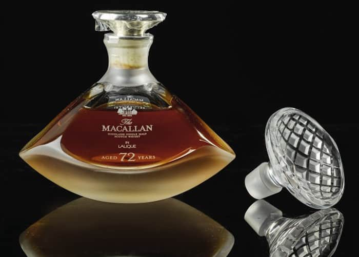 The Macallan Lalique Genesis Decanter 72 Year Old