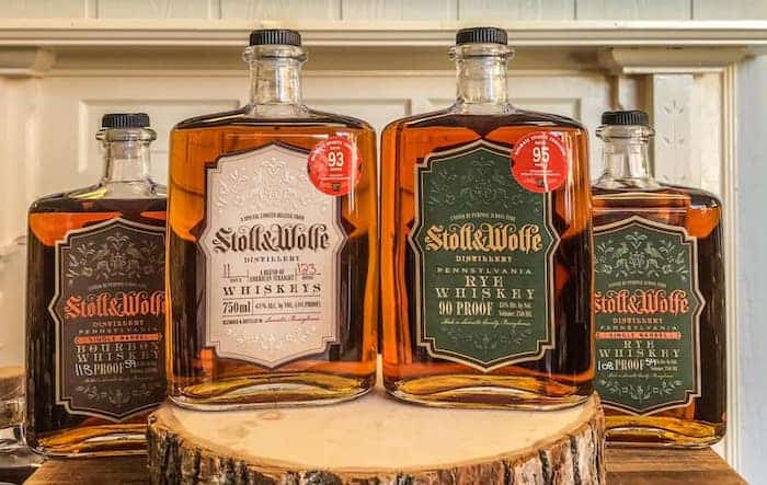 Stoll & Wolfe whiskeys