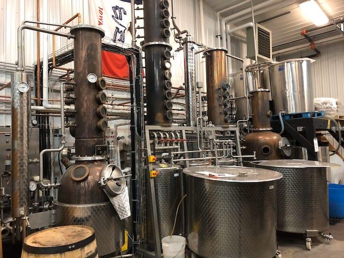Cedar Ridge distilling equipment