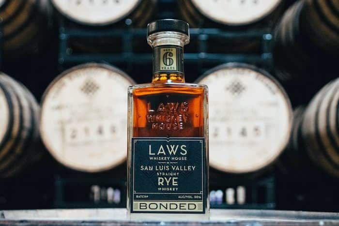 Laws Whiskey House San Luis Valley Rye Whiskey