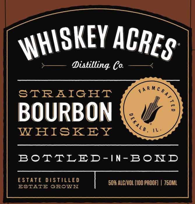 Whiskey Acres Bottled-in-Bond Bourbon