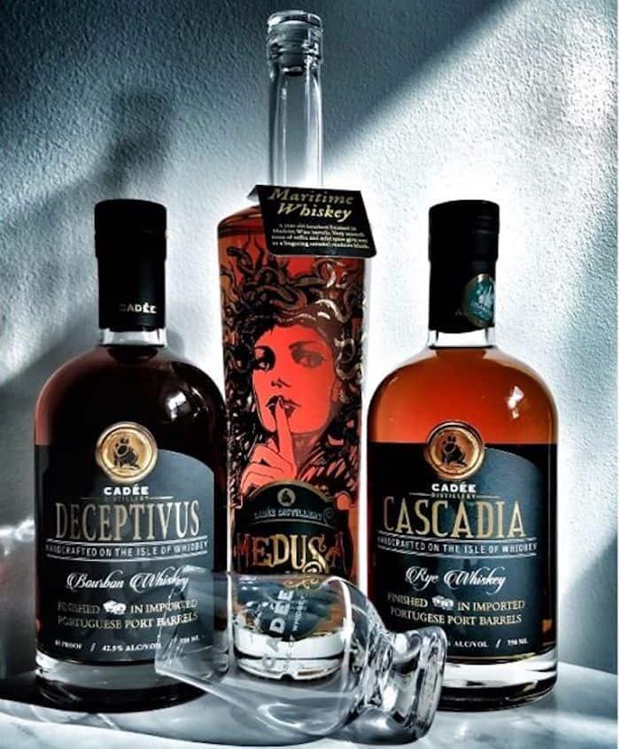 Cadée Distillery whiskeys
