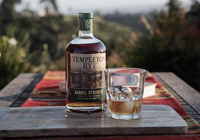 2020 Templeton Rye Barrel Strength Straight Rye Whiskey