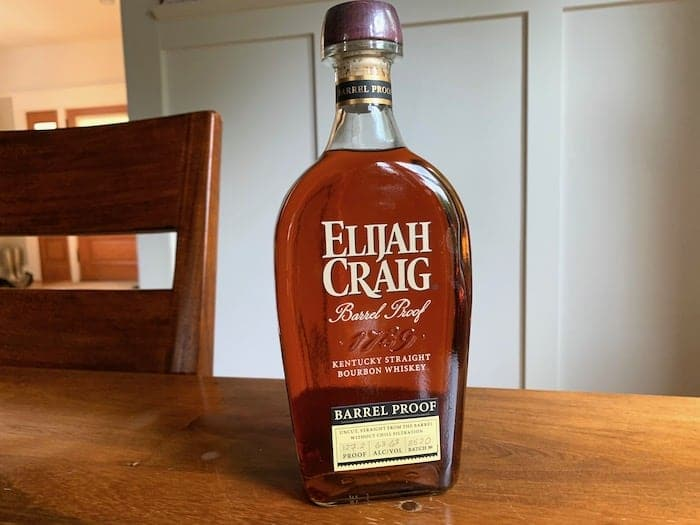 Elijah Craig Barrel Proof Batch B520