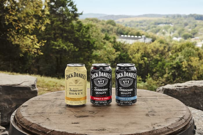 Jack Daniel's Canned Cocktails