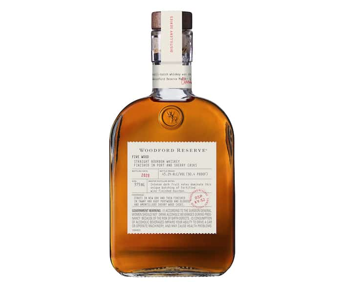 Woodford Reserve Five Wood Bourbon