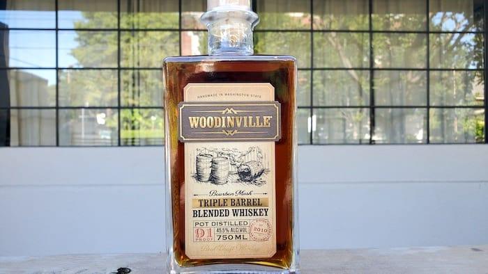 Woodinville Triple Barrel Blended Whiskey