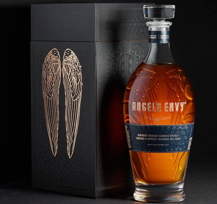 Angel's Envy Kentucky Straight Bourbon Whiskey Finished In Japanese Mizunara Oak Casks