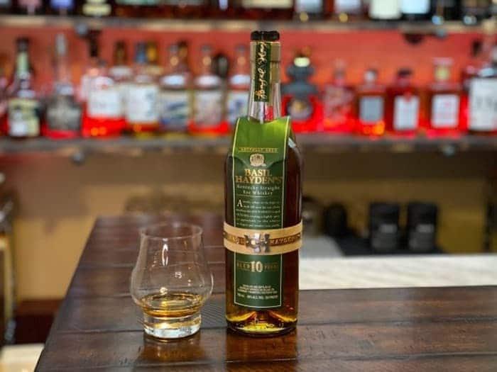 Basil Hayden's 10 Year Old Rye Whiskey