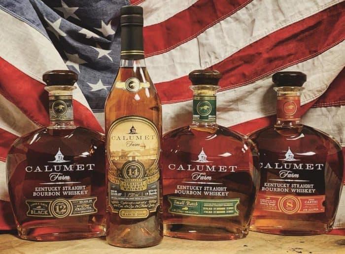 Calumet Farm bourbons