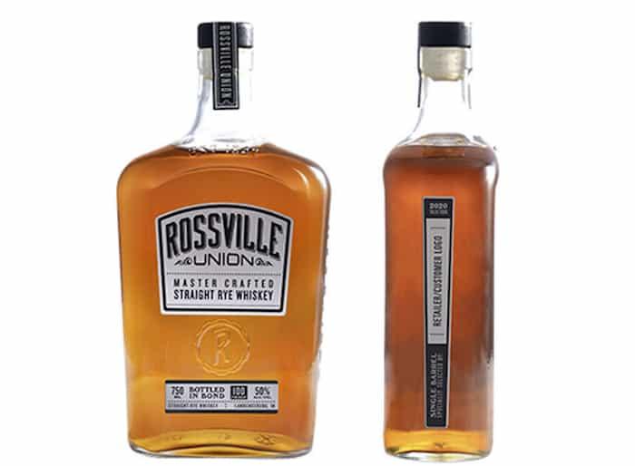 Rossville Union Single Barrel Straight Rye Whiskey