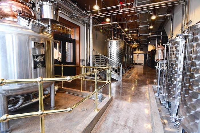 Sazerac House micro distillery