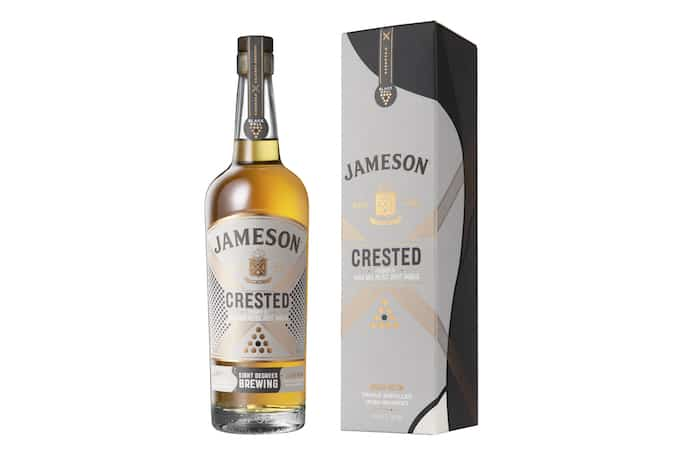Jameson Crested Finished In Black Ball Metric Stout Barrels