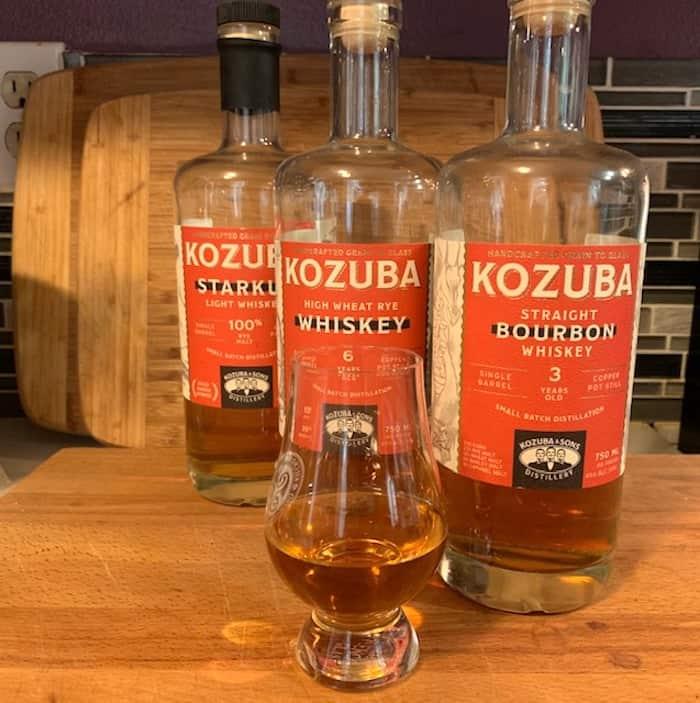 The whiskeys of Kozuba