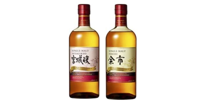 Nikka Whiskies Finished In Apple Brandy Barrels