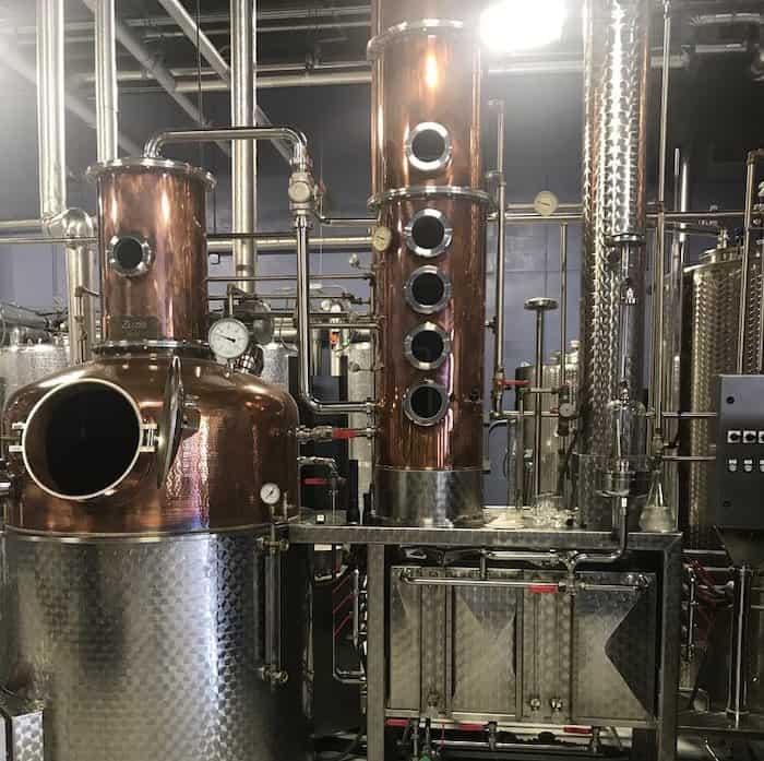 The still at Kozuba & Sons Distillery