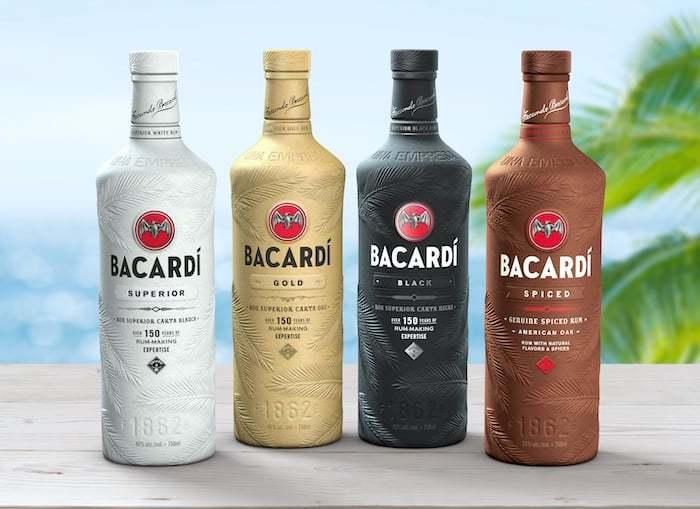 Bacardi new bottles