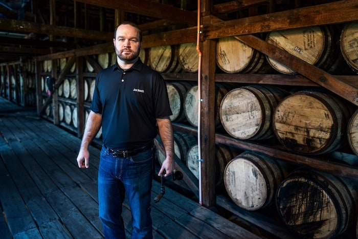 Jack Daniel's new master distiller Chris Fletcher