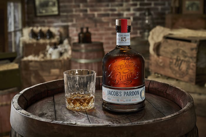 Jacob's Pardon American whiskey