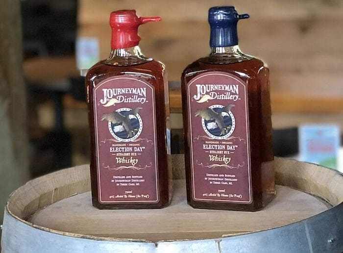 Election Day Straight Rye Whiskey