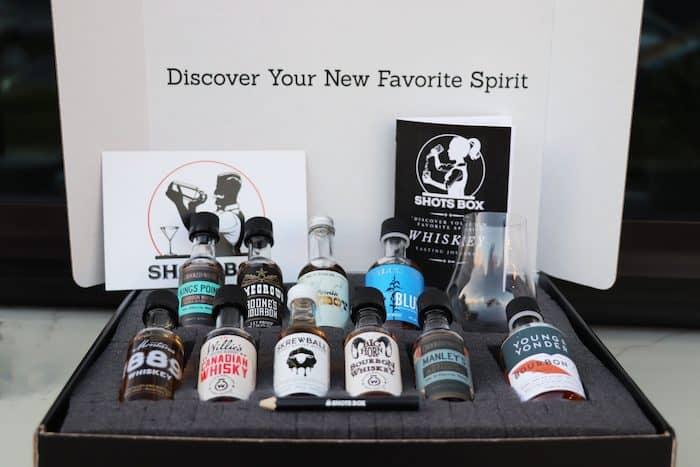 The Shots Box Whiskey Club