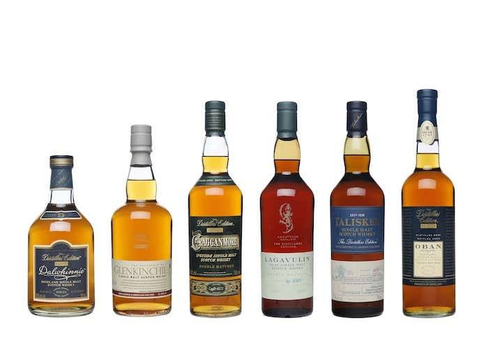 Diageo 2020 Distillers Edition collection
