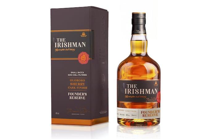 The Irishman Founder's Reserve Oloroso Sherry Cask Finish