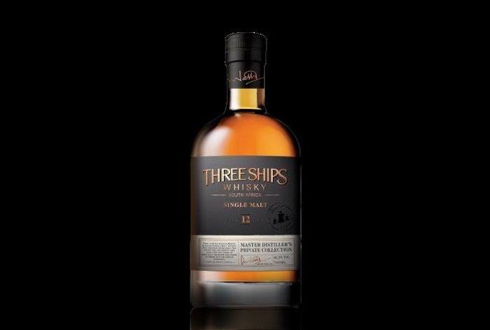Master Distiller's Private Collection Three Ships Whisky 12-Year-Old